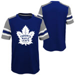 Toronto Maple Leafs Youth Crashing the Net T-Shirt by Outerstuff