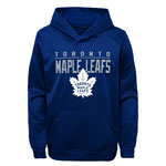 Toronto Maple Leafs Youth Pacesetter Performance Pullover Fleece Hoodie by Outerstuff