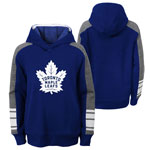 Toronto Maple Leafs Youth Fresh Take Pullover Fleece Hoodie by Outerstuff