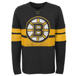 Boston Bruins Youth Featured Classic Long Sleeve T-Shirt by Outerstuff