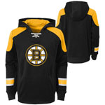 Boston Bruins Youth Zenith Performance Pullover Fleece Hoodie by Outerstuff