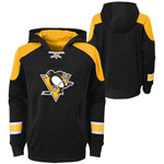Pittsburgh Penguins Youth Zenith Performance Pullover Fleece Hoodie by Outerstuff