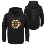Boston Bruins Youth Authentic Pro Rinkside Core Pullover Hoodie by Outerstuff