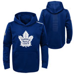 Toronto Maple Leafs Youth Prime Basic Pullover Fleece Hoodie by Outerstuff