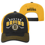 Boston Bruins Youth Face-Off Adjustable Hat by Outerstuff