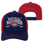Montreal Canadiens Youth Face-Off Adjustable Hat by Outerstuff