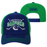 Vancouver Canucks Youth Face-Off Adjustable Hat by Outerstuff