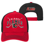 Calgary Flames Youth Face-Off Adjustable Hat by Outerstuff