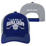 Toronto Maple Leafs Youth Face-Off Adjustable Hat by Outerstuff