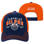 Edmonton Oilers Youth Face-Off Adjustable Hat by Outerstuff