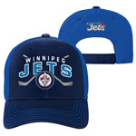 Winnipeg Jets Youth Face-Off Adjustable Hat by Outerstuff