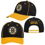 Boston Bruins Youth Lifestyle Patch Adjustable Hat by Outerstuff