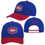 Montreal Canadiens Youth Lifestyle Patch Adjustable Hat by Outerstuff