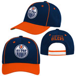 Edmonton Oilers Youth Lifestyle Patch Adjustable Hat by Outerstuff
