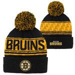 Boston Bruins Youth Pattern Jacquard Cuffed Knit Hat by Outerstuff