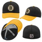 Boston Bruins Youth Top Shelf Stretch Fit Hat by Outerstuff