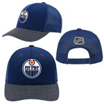 Edmonton Oilers Youth Authentic Second Season Adjustable Hat by Outerstuff