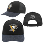 Pittsburgh Penguins Youth Authentic Second Season Adjustable Hat by Outerstuff