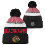 Chicago Blackhawks Youth Authentic Pro Rinkside Goalie Cuffed Knit Hat by Outerstuff