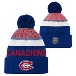Montreal Canadiens Youth Authentic Pro Rinkside Goalie Cuffed Knit Hat by Outerstuff