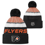 Philadelphia Flyers Youth Authentic Pro Rinkside Goalie Cuffed Knit Hat by Outerstuff