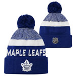 Toronto Maple Leafs Youth Authentic Pro Rinkside Goalie Cuffed Knit Hat by Outerstuff