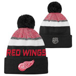 Detroit Red Wings Youth Authentic Pro Rinkside Goalie Cuffed Knit Hat by Outerstuff