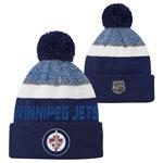 Winnipeg Jets Youth Authentic Pro Rinkside Goalie Cuffed Knit Hat by Outerstuff