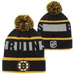Boston Bruins Youth Breakaway Jacquard Cuffed Knit Hat by Outerstuff