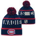 Montreal Canadiens Youth Breakaway Jacquard Cuffed Knit Hat by Outerstuff