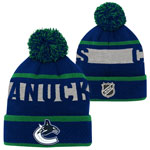 Vancouver Canucks Youth Breakaway Jacquard Cuffed Knit Hat by Outerstuff
