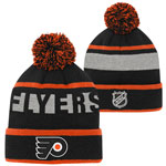 Philadelphia Flyers Youth Breakaway Jacquard Cuffed Knit Hat by Outerstuff