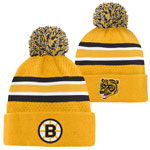 Boston Bruins Youth Top Shelf Cuffed Knit Hat by Outerstuff