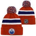 Edmonton Oilers Youth Top Shelf Cuffed Knit Hat by Outerstuff