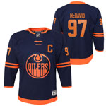 Connor McDavid Edmonton Oilers Youth Premier Alternate Jersey by Outerstuff
