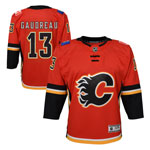 Johnny Gaudreau Calgary Flames Youth Premier Home Jersey by Outerstuff