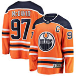 Connor McDavid Edmonton Oilers Youth Premier Home Jersey by Outerstuff