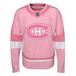 Montreal Canadiens Youth Girls Pink Fashion Jersey by Outerstuff