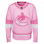 Vancouver Canucks Preschool Girls Pink Fashion Jersey by Outerstuff