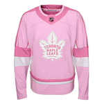 Toronto Maple Leafs Youth Girls Pink Fashion Jersey by Outerstuff