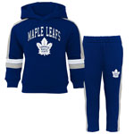 Toronto Maple Leafs Infant Break Out Pullover Fleece Hoodie and Pant Set by Outerstuff
