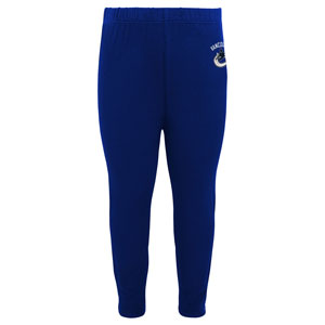 Vancouver Canucks Infant Girls Show Off Long Sleeve Top and Leggings Set