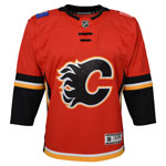 Calgary Flames Infant Premier Home Jersey by Outerstuff
