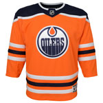 Edmonton Oilers Toddler Premier Home Jersey by Outerstuff