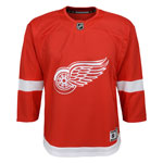 Detroit Red Wings Toddler Premier Home Jersey by Outerstuff
