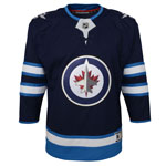 Winnipeg Jets Toddler Premier Home Jersey by Outerstuff