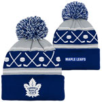 Toronto Maple Leafs Infant Face-Off Cuffed Knit Hat by Outerstuff