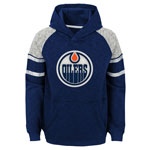 Edmonton Oilers Men's Left Winger Pullover Fleece Hoodie by Outerstuff