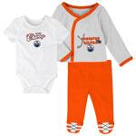 Edmonton Oilers Newborn Future Champ Bodysuit, Shirt, and Pants Set by Outerstuff