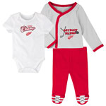 Detroit Red Wings Newborn Future Champ Bodysuit, Shirt, and Pants Set by Outerstuff